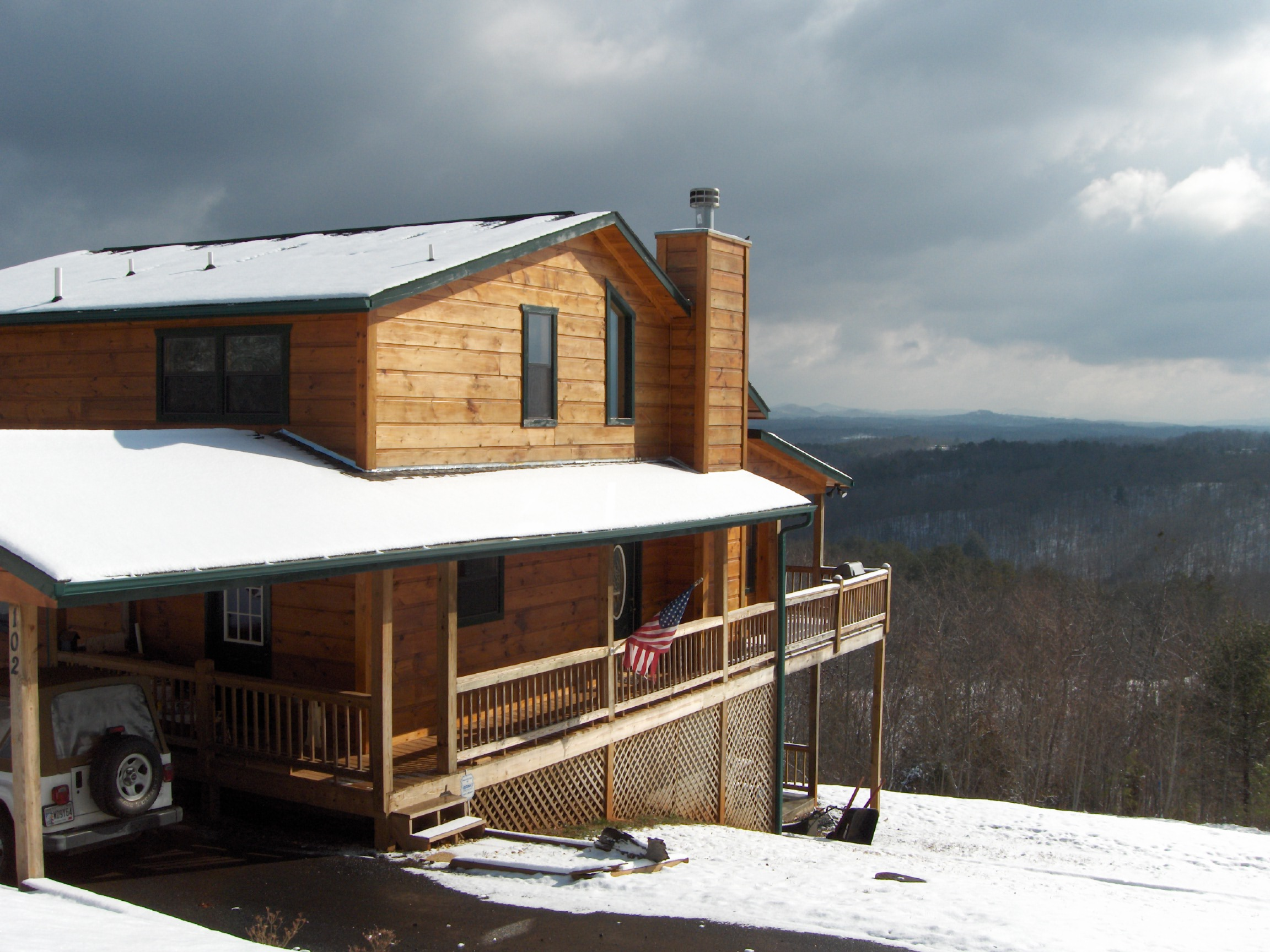 Log Cabin For Sale By Owner In The Blue Ridge Mountains